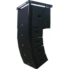dual 6 inch line array speaker