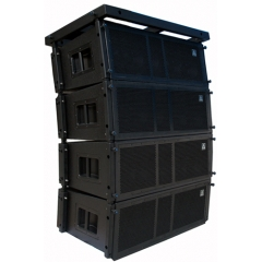 three way powerful line array speaker