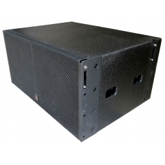 dual 15inch strong subwoofer speaker
