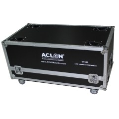 line array speaker flight case