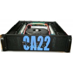 two channel 2500W amplifier