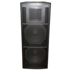 full range long throw loudspeaker