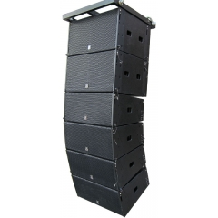 dual 8inch active line array speaker