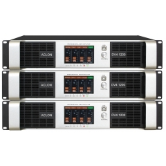 DV41200 four channel DSP switch amplifier