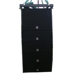 dual 6inch active line array speaker