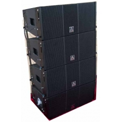 dual 12inch active line array speaker