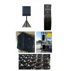 compact lightweight line array speaker